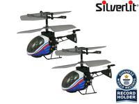 Silverlit RC Nano Falcon XS: 's werelds kleinste helikopter (duopack)