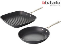 Brabantia Tritanium Set | Koekenpan en Grillpan