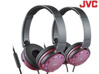 JVC On-Ear Koptelefoon met Bediening en Mic – Duopack