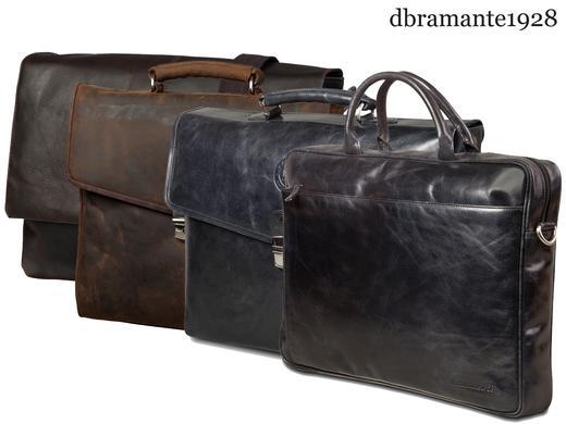 Dbramante1928 lederen laptoptassen – kies uit verschillende modellen