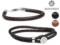 Monomen Leren Armbanden voor Heren