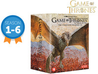 HBO Game of Thrones DVD-box Seizoen 1 t/m 6